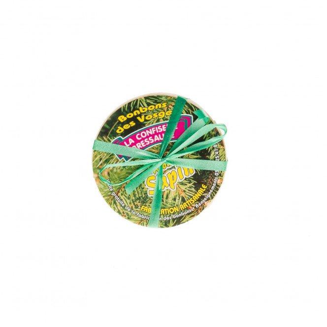 Boite bois : Bonbons Vosgiens, 150 gr