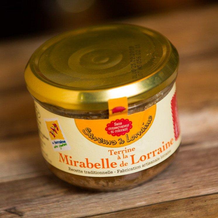 Terrine à la Mirabelle de Lorraine