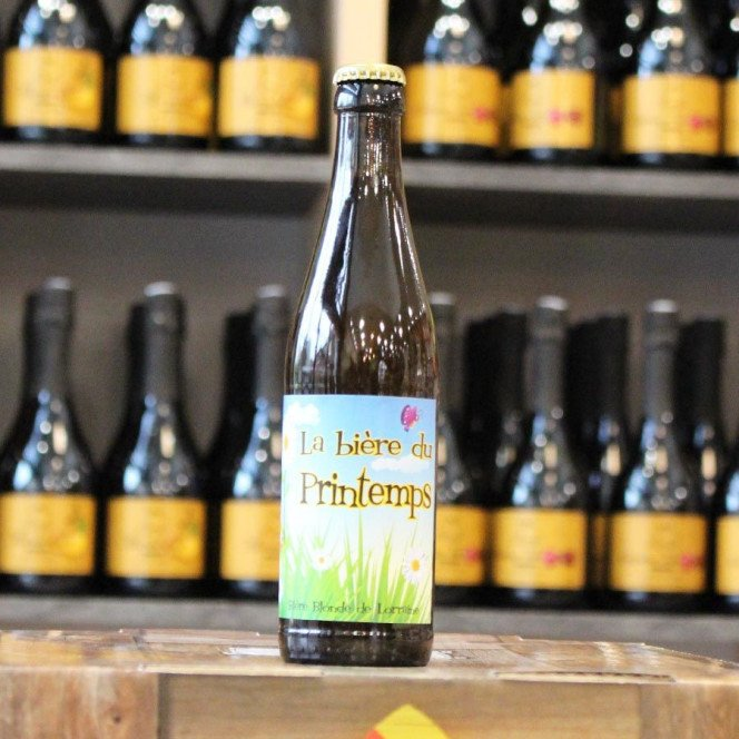 Bière de printemps, 33cl 5°