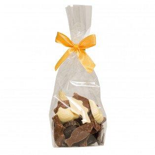 Fritures de pâques Chocolat Noir, au Lait et Blanc 120g