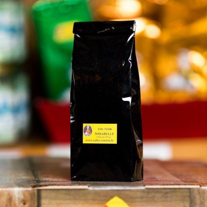 Thé noir mirabelle, 100gr