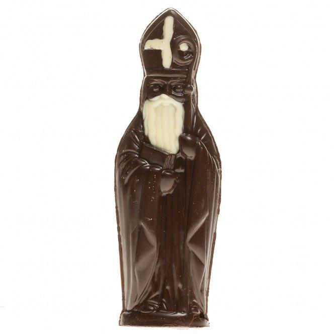 Saint Nicolas au chocolat noir