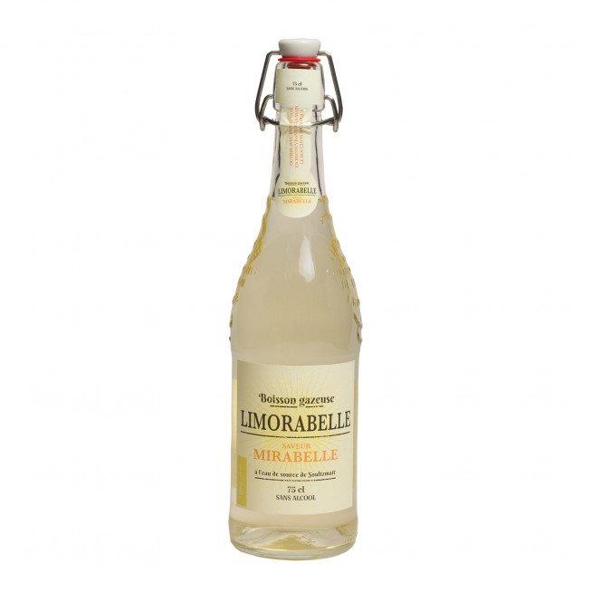 Limonade saveur mirabelle