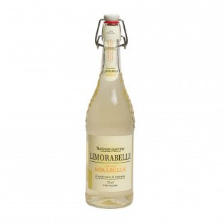 "Limonade saveur mirabelle ""Limorabelle"", 75 cl"