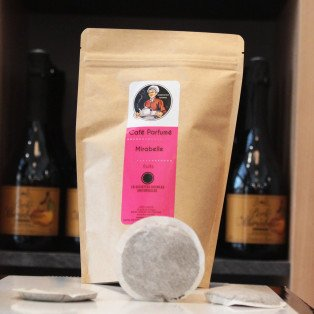 Dosettes de Café Arômatisé Mirabelle, 125 gr
