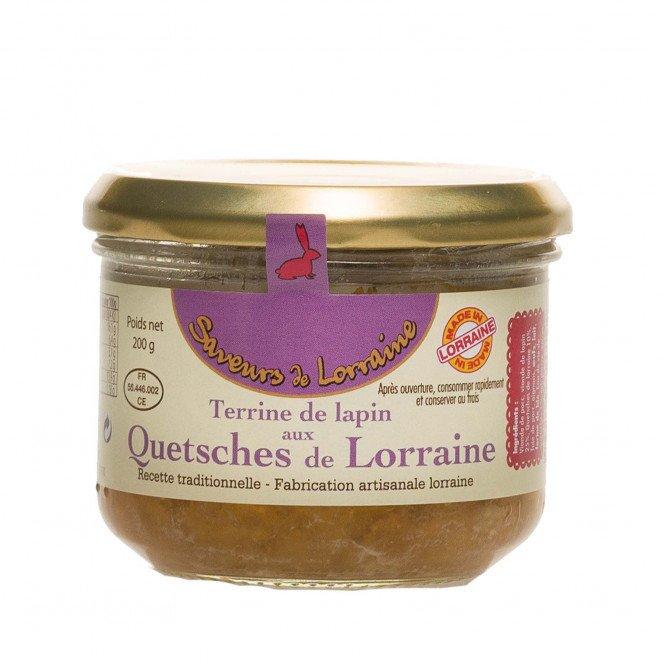 Terrine de Lapin aux Quetsches de Lorraine