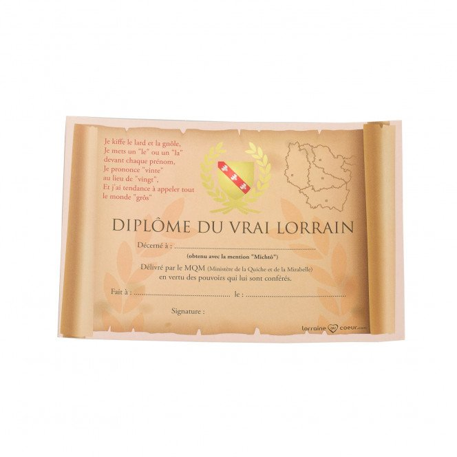Carte Postale Lorraine