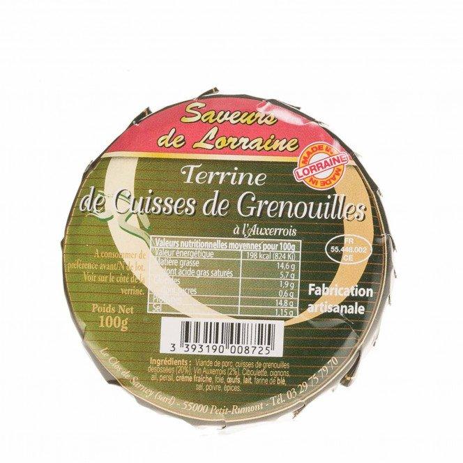 Terrine de Cuisses de Grenouilles à l'Auxerrois