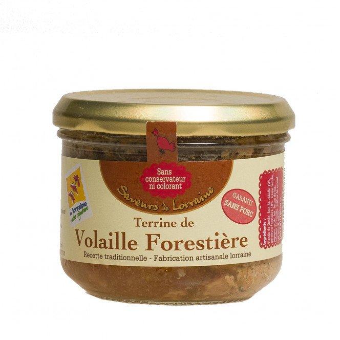 Terrine de Volaille Forestière Sans Porc