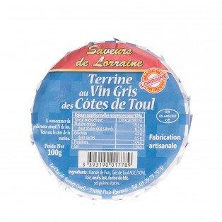Terrine au Vin Gris des Côtes de Toul