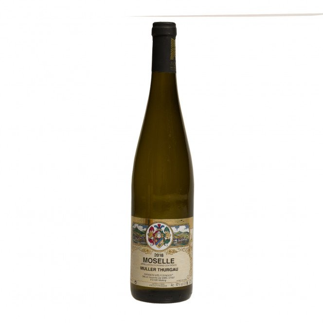 Vin blanc Müller Thurgau AOC Moselle, 75 cl 11.50°