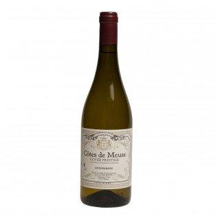 Vin Blanc Auxerrois cuvée prestige IGP Côtes de Meuse, 11.50°