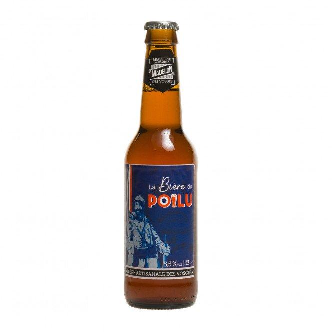 Bière ambrée du Poilu, 33 cl 5.5°