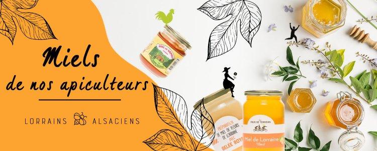 miels de nos terroirs français