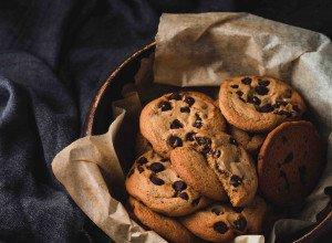 Cookies chocolat miel